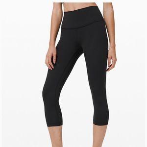 Lululemon 3/4 length leggings wunder unders